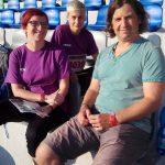 Tereza Fankhänel (EOH), Monika Schubertová (ZŠ Postoloprty), Ronald Fischer (EOH)