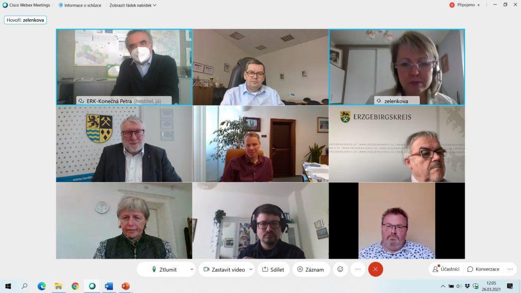 Zasedání společného česko-německého grémia videokonferenčně