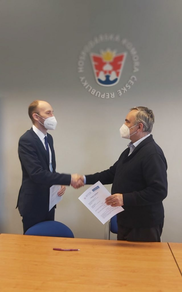Spolupráce s OHK Chomutov stvrzena SMLOUVOU