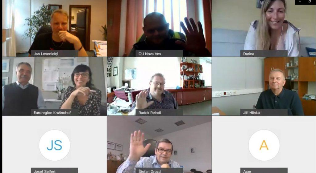 Květnové videokonferenční zasedání rady