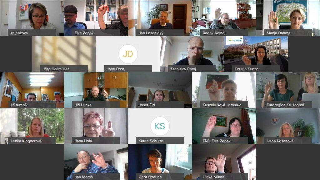 O podpoře malých projektů rozhodl bilaterální česko-saský lokální řídící výbor videokonferenčně