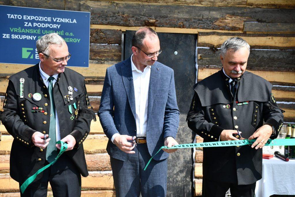 Nová prohlídková trasa v PTM byla slavnostně zahájena za přítomnosti předsedy euroregionu
