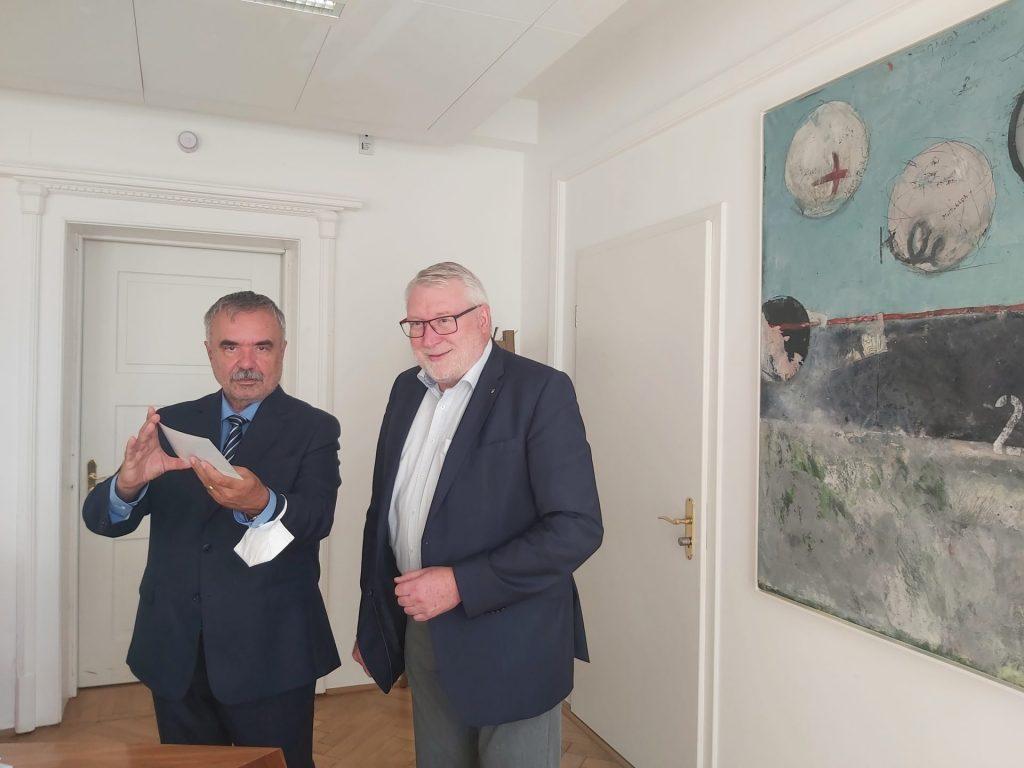 Setkání předsedů a jednatelů euroregionů ve Freibergu